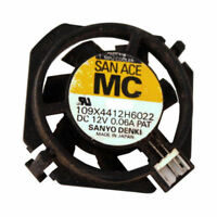 SANYO DENKI 109X4412H6022 MPU COOLER FAN DC 12V 0.06A (Fan only, No Heatsink)