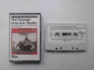 ASV Transacord Steam Age The Triumph Of An A.4. Pacific Cassette Tape 1963