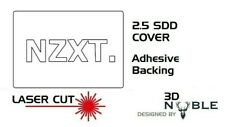 WHITE - NZXT - 2.5inch SSD/HDD SATA Hard Drive Cover Plate INTERNAL SOLID