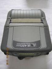 Zebra QL420 Plus Mobile Label Printer with 802.11b/g Radio Q4D-LUGA0000-00 Q4D