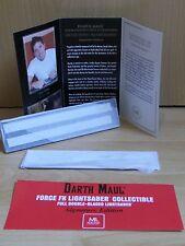 Master Replicas Force Fx Lightsaber Darth Maul Signature Set Star Wars