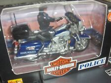 Toy Maisto 1:18 Harley Virginia State Police dept Motorcycle series 4