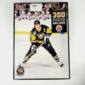 Vintage 1992 Mario Lemieux 300pc Poster Puzzle Official NHL 22x35 Complete