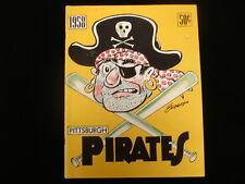 1958 Pittsburgh Pirates Baseball Yearbook