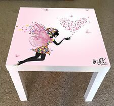 Fairy Vinyl Sticker Suitable For ikea lack Table / Coffee table lk12