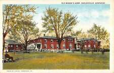 Shelbyville Kentucky Old Masons Home Street View Antique Postcard K21829