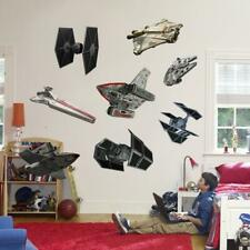 Star Wars Rebel & Imperial Ships 8 Decals Removable Wall Sticker Home Decor Art