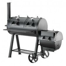 BBQ's-R-US Hark Texas Pro Pit charcoal offset smoker/roast/grill HK0527