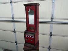 Late 1800's Stollwerck Candy Bar Gum Chocolate 4 Column Penny Vending Machine