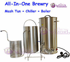 Robobrew All Grain Brewing Single Vessel Stainless Steel Semi-Automatic System
