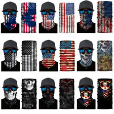 3D Seamless Bandana Tube Face Masks Neck Scarf Balaclava Motorcycle Mouth Cover