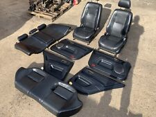 99-05 LEXUS IS200 BLACK FULL LEATHER SEATS FRONT & REAR 2004