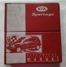 1998 1999 KIA SPORTAGE ELECTRICAL TROUBLESHOOTING SERVICE MANUAL