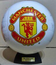 DANBURY MINT RARE MANCHESTER UNITED CERAMIC PREMIERSHIP WINNERS 2006 / 2007 BALL
