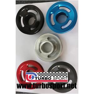 Ford Pinto alloy crank crankshaft front pulley