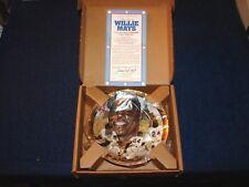 Willie Mays Giants Hof Hamilton Collection Best Of Baseball 23K Rim Plate (18Xx)