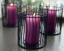 Markenlose stumpenkerze moderne deko kerzenständer