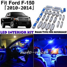 10x Blue LED Interior Lights Package Kit For 2010 - 2013 2014 Ford F-150 F150