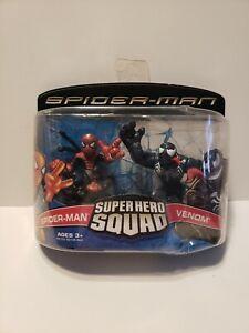 Super Hero Squad - SPIDER-MAN vs VENOM  2007 Hasbro Marvel