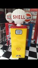 Vintage  Petrol Pump Shell Livery With Globe Classic Car Garage Mancave Repro