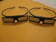 3D GLASSES for SAMSUNG LED PLASMA TV SSG-4100GB BN96-22902A  (2x 3D glasses)
