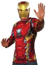 Marvel Avengers Civil War Iron Man Costume Jumpsuit and Mask Youth Large 10-12