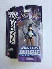 "DC Justice League Unlimited Super Heroes Zatanna 4"" Figure NEW"