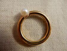 Goldring mit Perle 585 Gold Goldschmuck 14 Karat