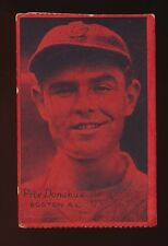 1931 W517 Strip Cards *Mini* -PETE DONAHUE (Boston Red Sox) *RARE RED COLOR*