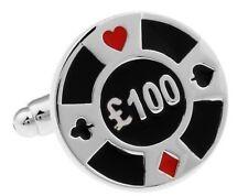 GEMELOS ficha Poker, 100 libras, juego, cartas BBC - ENVIO GRATIS a ESPAÑA