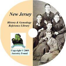 63 old books NEW JERSEY history & genealogy NJ