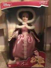 disney princess belle porcelain keepsake doll