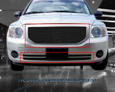 Black Billet Grille Front  Grill Combo For Dodge Caliber 2006-2012