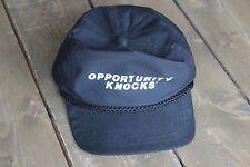 Vintage OPPORTUNITY KNOCKS Adjustable Hat