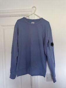 CP Company Sweatshirt. Dutch Blue. Worn But Good Condition. Small. Lens Detail