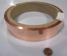 "110 Copper Foil Soft Temper .005"" Thick x 1 1/2"" Wide x 100 Foot  Length"