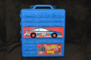 USED 1997 Hot Wheels 100 Car Carry Case NO CARS INCLUDED