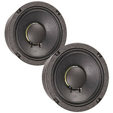 "Pair Eminence Beta-6A 6-1/2"" High Power Midbass Woofer 8ohm 94dB Replacement"