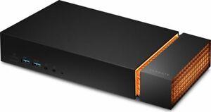 Seagate FireCuda Gaming Dock 4TB externe Festplatte Thunderbolt 3 NVMe SSD-Slot