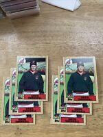 1987 Topps Greg Swindell Cleveland Indians #319 Baseball Card lot of (6) cards