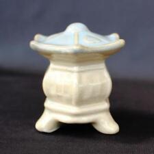 "3"" Blue Top Stone Lantern Mudmen Bonsai Figurine"