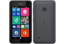 "Optus Nokia Lumia 530 Dark Grey 4"" Screen 5MP Camera 3.5G Windows 8.1 Quad-core"