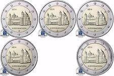 2 Euro St Michael Hildesheim Deutschland 2014 bfr Bundesland Niedersachsen A - J