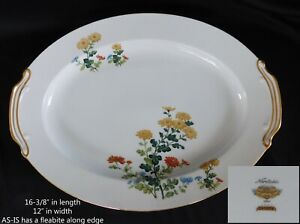 """Noritake Sandra OVAL 16"""" SERVING PLATTER  have more items to set AS IS"""