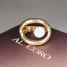 Al Coro Ring mit 0,27ct Brillant in 750/18K Rosegold  UVP. 2.085.- €