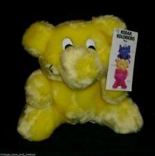 """9"""" VINTAGE 1991 YELLOW SHUTTER KODAK KOLORKINS STUFFED ANIMAL PLUSH CAMERA TOY"""
