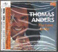Thomas Anders: The Love in me (2014) Modern Talking TAIWAN OBI 3-CD 2019 REISSUE