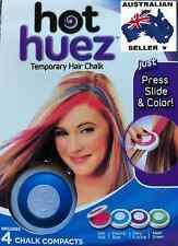 Non-Toxic Hair Chalk Set of 4 colour for Party Christmas DIY Kit