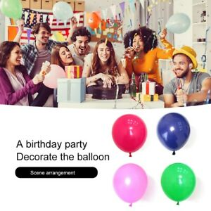 100 PCS Balloons 10 Inch Round Durable Latex Balloons for Wedding