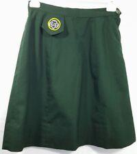 Cadette Girl Scout Uniform Skirt waist 25 Halloween Costume Dacron Polyester
